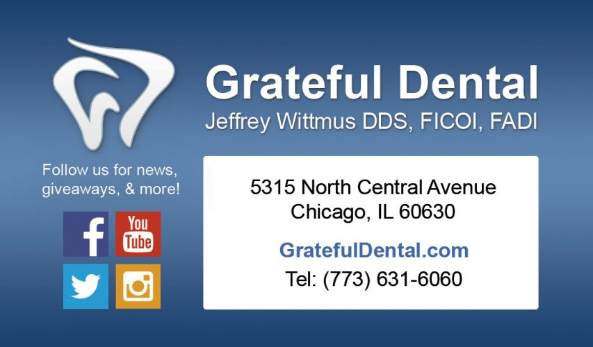 Grateful Dental Business Card