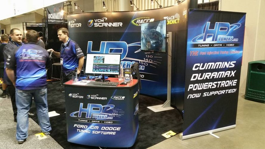 HP Tuners Tradeshow Booth
