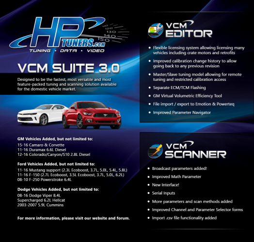 HP Tuners VCM Suite Flyer