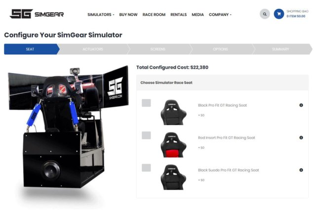 SimGear Simulators