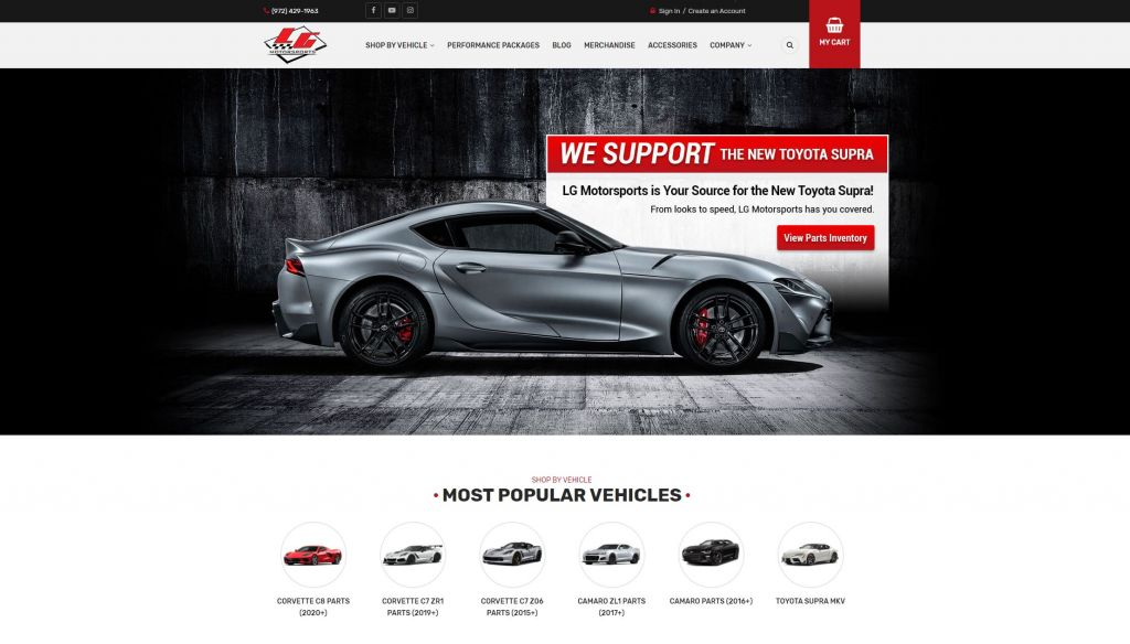 LG Motorsports Redesign